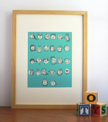 modern nursery decor by Etsy