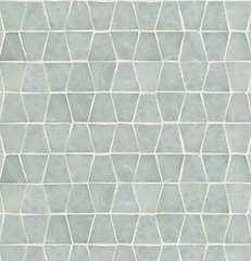 eclectic bathroom tile by Rebekah Zaveloff