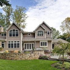 Traditional Exterior by Robert G. Emert Architect, Inc.