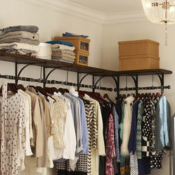 New York Shelf and Clothes Rack