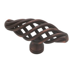 """Liberty Hardware - Liberty Hardware PN0528 Forged Iron II Series 2 Inch Long Birdcage Cabinet Knob - Forged Iron II Collection 50mm Small Oval Birdcage KnobThis 50mm Small Oval Birdcage Knob is an excellent example of the products from Forged Iron II collection. It's versatile design matches well with most d�cor. These products appeal to many different personalities and helps create a bathroom design of a quality look and style.The Forged Iron II collection offers many different cabinet knobs and pulls. Any of these knobs or pulls can add instant classiness to any cabinet you attach it to.Features:Diameter: 1.97"""" (50mm)A Perfect Match for Other Products from the Forged Iron II CollectionSince 1942, Liberty Hardware Manufacturing Corporation has built its reputation by offering high quality decorative and functional hardware products at an exceptional value. The company proudly offers its extensive line of hardware products through fine retail outlets and original equipment manufacturer (OEM) distribution channels across the country."""