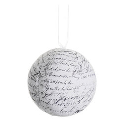 Silk Plants Direct - Silk Plants Direct Vintage Ball Ornament (Pack of 6) - Pack of 6. Silk Plants Direct specializes in manufacturing, design and supply of the most life-like, premium quality artificial plants, trees, flowers, arrangements, topiaries and containers for home, office and commercial use. Our Vintage Ball Ornament includes the following: