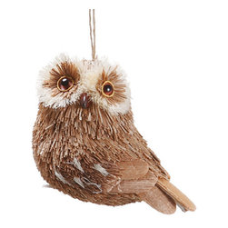 Silk Plants Direct - Silk Plants Direct Sisal Owl Ornament (Pack of 6) - Pack of 6. Silk Plants Direct specializes in manufacturing, design and supply of the most life-like, premium quality artificial plants, trees, flowers, arrangements, topiaries and containers for home, office and commercial use. Our Sisal Owl Ornament includes the following: