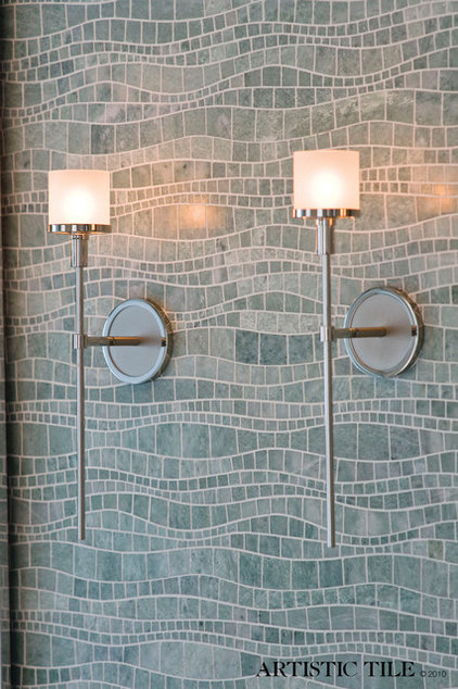 Contemporary Tile by B•D•G Design Group