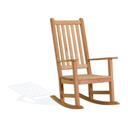 Oxford Garden - Franklin Rocking Chair - The Franklin Rocking Chair combines a truly proud, historic look with modern styling touches and our dependable as morning sunrise craftsmanship to offer beauty and incredible comfort that lasts a lifetime.