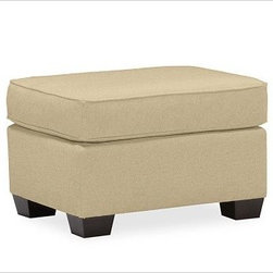 "PB Comfort Roll UpholsteredOttomanEverydaySuedeOatUpholsteredPoly - Built by our exclusive master upholsterers in the heart of North Carolina, our PB Comfort Upholstered Ottoman has a soft cushion inviting hours of relaxation. 31"" w x 25"" d x 17"" h {{link path='pages/popups/PB-FG-Comfort-Roll-Arm-4.html' class='popup' width='720' height='800'}}View the dimension diagram for more information{{/link}}. {{link path='pages/popups/PB-FG-Comfort-Roll-Arm-6.html' class='popup' width='720' height='800'}}The fit & measuring guide should be read prior to placing your order{{/link}}. Ottoman has a polyester wrapped cushion. Proudly made in America, {{link path='/stylehouse/videos/videos/pbq_v36_rel.html?cm_sp=Video_PIP-_-PBQUALITY-_-SUTTER_STREET' class='popup' width='950' height='300'}}view video{{/link}}. For shipping and return information, click on the shipping tab. When making your selection, see the Quick Ship and Special Order fabrics below. {{link path='pages/popups/PB-FG-Comfort-Roll-Arm-7.html' class='popup' width='720' height='800'}} Additional fabrics not shown below can be seen here{{/link}}. Please call 1.888.779.5176 to place your order for these additional fabrics."