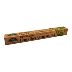 If You Care Heavy Duty Aluminum Foil - 30 Sq Ft Roll - If You Care Heavy Duty Alumnium Foil is made with and packaged in 100% recycled materials. The foil is made from 100% recycled aluminum and the packaging is made from 100% recycled cardboard and 100% unbleached paper. Heavy Duty Aluminum Foil is thicker, stronger, and wider than original If You Care foil, making it perfect for grilling and BBQ.