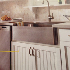 Aristokraft cabinetry --Ellsworth collection.   Sink could be a traditional coun