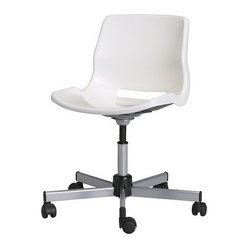 Snille Swivel Chair, White