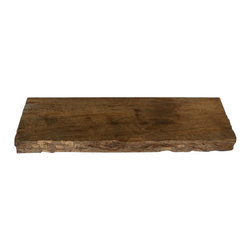 "Punky Hill - Punky Hill 36"" x 12"" x 3"" Distressed Shelf - Punky Hill shelves are known for their unique age and character.  The features and details of these shelves provide a beautiful contrast for your favorite wall.   If you wish to install this as a floating shelf then please include 2 of our invisible brackets with your order."