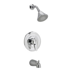 American Standard - Reliant Tub and Shower Faucet in Polished Chrome - American Standard T385.502.002 Reliant Tub and Shower Faucet in Polished Chrome.