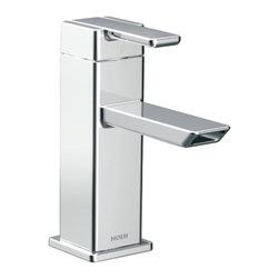 Moen - Moen CA6700 90 Degree Bathroom Faucet Chrome - Moen CA6700 90 Degree One Handle Low Arc Bathroom Faucet - Chrome