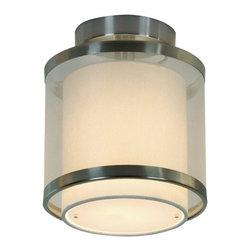 Trend Lighting - Trend Lighting BP8942 Brushed Nickel Ceiling Fixture Lux Collection - Trend Lighting BP8942 Features: