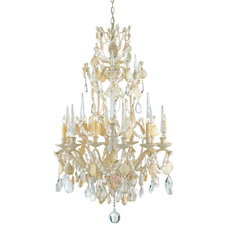 Tropical Chandeliers by Cottage and Bungalow