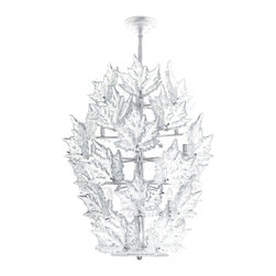 Lalique - Lalique Champs Elysees 6 Tier Chandelier Chrome - Lalique Champs Elysees 6 Tier Chandelier Chrome 1012399  -  Size: 35.43 Inches Long x 44.68 Inches Tall  -  Genuine Lalique Crystal  -  Fully Authorized U.S. Lalique Crystal Dealer  -  Created by the Lost Wax Technique  -  No Two Lalique Pieces Are Exactly the Same  -  Brand New in the Original Lalique Box  -  Every Lalique Piece is Signed by Hand, a Sign of its Authenticity and Quality  -  Created in Wingen on Moder-France  -  Lalique Crystal UPC Number: 090592099902