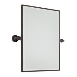 Minka Lavery - Minka Lavery Rectangle Pivoting Bathroom Mirror - Minka Lavery 1440 Traditional / Classic Rectangle Mirror