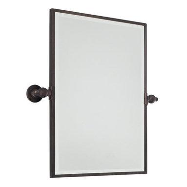 Minka Lavery - Minka Lavery Rectangle Pivoting Bathroom Mirror - Minka Lavery 1440 Traditional / Classic Rectangle Mirror