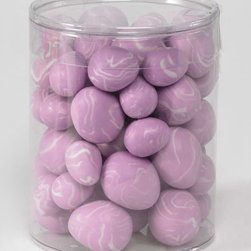 K&K Interiors - Purple Egg Décor Set - Ready to accent your springtime décor, this set of 54 purple eggs enhances your mantel or tabletop with ease.   Includes 54 eggs 1'' W Imported