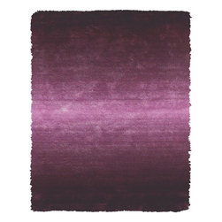Feizy - Contemporary Indoor/Outdoor Accent Rug: Feizy Rugs Indochine Purple 2 ft. x 3 - Shop for Flooring at The Home Depot. The Indochine collection is wonderfully plush and luxurious shag that has been table tufted of art silk. The sheen that these rugs possess makes them a playful addition to more casual contemporary settings. Decorating your space with an Indochine rug instantly creates a setting of warmth and comfort. Color: Purple.