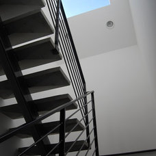 Modern Staircase by Stephenson Design Collective