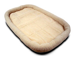 MAJESTIC PET PRODUCTS - Sherpa Crate Pet Bed Mat - Give your pet the best possible rest with this plush bedding. This luxe mat comes in a variety of chic colors and sizes, so you can fit it perfectly to fit your pet's crate. Cushion and cradle your pet with comfort and style!