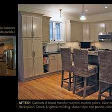 Modern  by Creative Cabinets and Faux Finishes. LLC