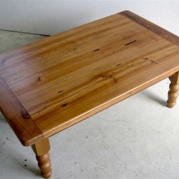 Pine Coffee Table For Living Room - Made by http://www.ecustomfinishes.com