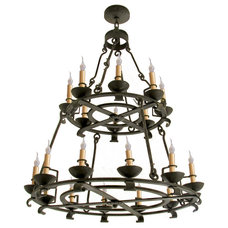 Eclectic Chandeliers by Hacienda Lights and Iron