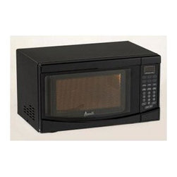 Avanti - 0.7CF 700 W Microwave Black Oven Broiler - Avanti 0.7 Cubic Foot Microwave with 700 Watts of Cooking Power and Electronic Control Panel