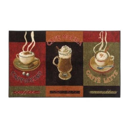 """Mohawk - Caffe Latte Primary 30"""" x 46"""" Accent Kitchen Rug - Shop for Flooring at The Home Depot. These Caffe Latte rugs are the perfect additions to your home. Multicolored rectangular design enhances the look of any room.Variety of sizes allows for decorating convenience."""