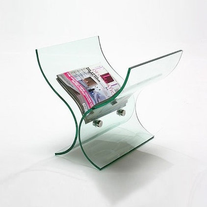 contemporary magazine racks by Abode Interiors