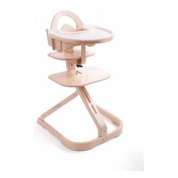 Svan - Signet Complete High Chair - Features: -High chair.-Designed to provide both infants and toddlers with a comfortable and ergonomic eating space.-Seat can be adjusted vertically and horizontally.-Footrest can also be adjusted to best suit your growing child.-Snap-on / snap-off tray gives children their own eating and play space.-When things get a bit messy, simply wipe down the wooden tray with a damp cloth or attach the BPA-free and phthalate-free plastic tray cover and toss it in the dishwasher.-Can also be used with the tray stored on back, enabling the child to eat at the table with the family, even as an infant.-Cushion sold separately.-Creating the perfect balance of space and support for children 6 months to adulthood.-Chair Base: 18'' by 19''.-Height to Top of Backrest: 33.5''.-Height to Top of Safety Guard: 28.5''.-Seat Height Range: 18.5'' to 22''.-Seat Depth (child): 6'' to 9+''.-Footrest Height Range: 5'' to 17''.-Care: Wipe clean with a damp cloth and be sure to dry chair thoroughly. The wood may also be safely cleaned with cleaners and polishes designed for fine wooden furniture..-Includes high chair and baby kit.-Distressed: No.Dimensions: -Overall Dimensions: 34.5'' Height x 20'' Width x 22.25'' Depth.-Tray: 15.25'' Width x 15.75'' Depth.-Overall Product Weight: 18.