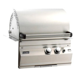"""Fire Magic - Fire Magic Legacy 11S1S1NA Built In Natural Gas Grill - -368 sq. inches Cooking Surface (23"""" x 16"""")  -42,000 BTUs Primary  -All 304 Stainless Steel  -Gourmet Cast Stainless Steel Burners  -Heavy-Duty Stainless Steel construction  -Largest cooking spacecompared to other same size grills  -Most BTUs per square inch.Heats fast and stays hot!  -16-gauge stainless steel flavor gridsare engineered for durability and even heatdistribution-Extensive lineof complementary accessories    Cut out: 24.75"""" W x 17.75"""" D x 12"""" H      15 year warranty on backburnersCast stainless steel burners, stainless steel housing and stainless steelcooking grids are warranted for as long as you own your grill"""