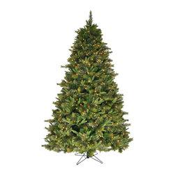 """essentialsinside.com: christmas tree 7.5' x 46"""" cashmere slim (A118176) - christmas tree-7.5' x 46"""" cashmere slim, 1320 tips / 600 clear lights, available at www.essentialsinside.com"""