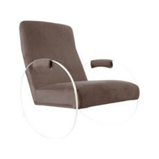 Contemporary Rocking Chairs And Gliders by Spacify Inc,