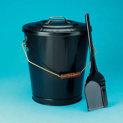 IMPERIAL MANUFACTURING GROUP - Black Ash Container & Shovel Set - Black Ash Container & Shovel Set