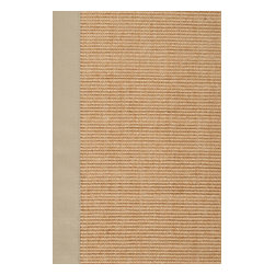 Surya - Natural Fiber Clinton 8'x10' Rectangle Beige Area Rug - The Clinton area rug Collection offers an affordable assortment of Natural Fiber stylings. Clinton features a blend of natural Beige color. Machine Made of 100% Sisal the Clinton Collection is an intriguing compliment to any decor.