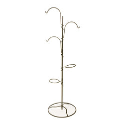 Lewis Lifetime Tools - Lewis Lifetime Tools Hanging Garden System Yard Tree with Balcony Base (YT-5) - Lewis Lifetime Tools YT-5 Hanging Garden System Yard Tree With Balcony Base