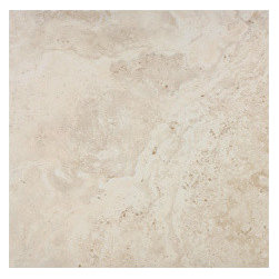 Vanilla | Eco-Tuscany | Eleganza | 20x20 Travertine-Look Porcelain Tile - http://www.worldclasstiles.com/porcelain-ceramic/brand/eleganza/eco-tuscany/20-x-20-eco-tuscany-eleganza-travertine-look-porcelain-tile/