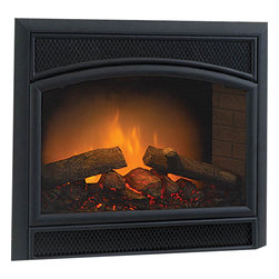 Majestic Products - Majestic WEF36 Allura-Fire Electric Fireplace - The Majestic WEF36 Allura-fire electric fireplaces part of Majestic's full line of products to complete your fireplace or stove. The Allura-Fire series from Majestic model WEF36 brings an unmatched, beautifully authentic classic styling with it's decorative arched face and sandstone refractory brick sides , and includes convenient remote control gives you freedom to manipulate your fireplace to suit any mood. This model features electric operation for easy installation. Majestic has been serving in the production of quality fireplaces, stoves, log sets, and outdoor accessories for over 50 years, and offer a wide range of beautiful styles, sizes, and trims.