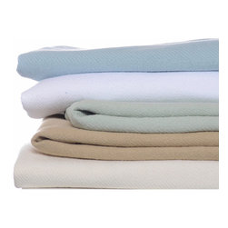 Nautica - Nautica Cotton Blanket - Enjoy the softness of this soft cotton blanket. Perfect for use as an additional layer on your bed,this wonderful 100 percent cotton blanket features durable knit construction. It is machine washable and available in a wide variety of stylish colors.