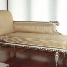 Traditional Indoor Chaise Lounge Chairs Traditional Day Beds And Chaises