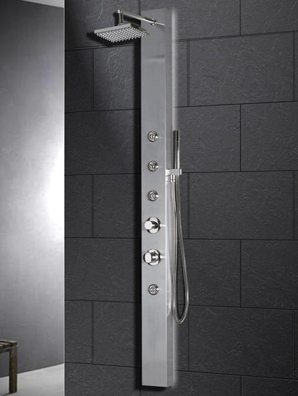 contemporary showers by Atlas International, Inc.