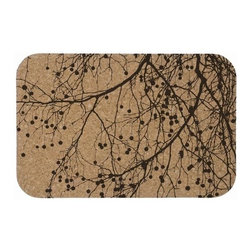 Ferm Living Cork Dinner Mats - Cork is back! Use the Cork Dinner Mats by Ferm Living to set the table and breathe new life into your dishes. These dinner mats can be wiped,  just in case you spill.