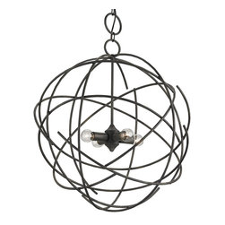 Currey and Company - Currey and Company Belfry Modern / Contemporary Chandelier X-1749 - Currey and Company Belfry Modern / Contemporary Chandelier X-1749