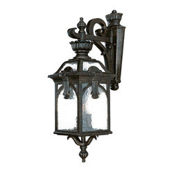 "Acclaim Lighting - Acclaim Lighting 7112 Belmont 3 Light 26.5"" Height Outdoor Wall Sconce - Acclaim Lighting 7112 Belmont Three Light 26.5"" Height Outdoor Wall SconceThis wall sconce from the Belmont Collection of exterior lights features a multitude of ornamental accents and baroque flourishes.Acclaim Lighting 7112 Features:"