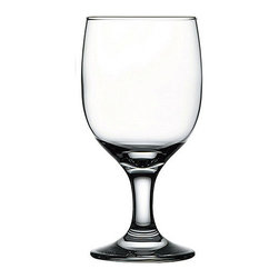 Hospitality Glass - 6H x 2 3/4T x 2 3/4B Capri 11.25 oz Beer Glasses 24 Ct - Capri 11.25 oz Goblet