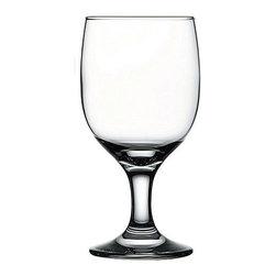 Hospitality Glass - 6H x 2 3/4T x 2 3/4B Capri 11.25 oz Beer Glasses 24 Ct - Capri 11.25 oz Goblet