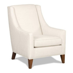 Sam Moore Sheridan Club Chair - Linen - The Sam Moore Sheridan Club Chair - Linen has a sleek, timeless style just right for your home. Low slung arms, a tight back, and deluxe seat cushion add luxurious comfort while the natural linen fabric upholstery, welt trim detailing, and tapered legs create a tailored yet casual style.About Sam MooreSince 1940, Sam Moore's hand-crafted upholstered furniture has offered extraordinary quality, comfort, and style. This Bedford, Virginia-based company proudly crafts its products right here in the USA. From classic to transitional to contemporary styles, Sam Moore takes time with every detail, making sure each piece is something you'll appreciate in your home.