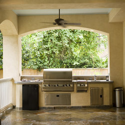 Back Porch Summer Kitchen -